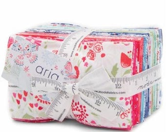 SALE Aria Fat Eighths Fabric Bundle -  Moda - Kate Spain