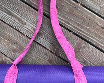 Yoga Mat Strap,  Yoga Mat Carrier,  Yoga Mat  Sling