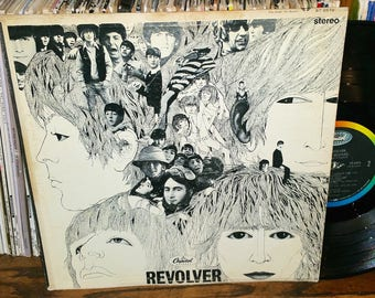The Beatles Revolver Vintage Vinyl Record