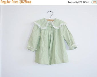 SALE // Vintage Green Toddler Jacket