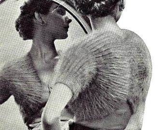 Unique Shrug Sweater Jacket Knitting Pattern 726055