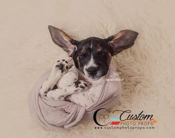 Gray Newborn Wrap, Purple Newborn Girl Swaddling Fabric, Boy Stretch Baby Wraps, Long Newborn Photography Wraps, Ready to Ship, OySter DrEaM