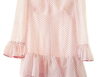 Cute Polka dots mini dress size S
