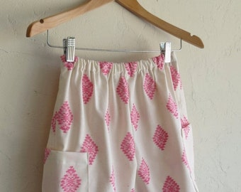 40% OFF The Vintage Pink Ikat Aztec Shorts