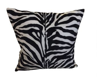 Safari Animal Zebra Pattern Cushion
