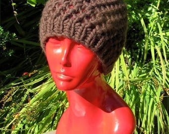 40% OFF SALE Digital pdf download - Superfast Simple Lace Skullcap Knitting Pattern