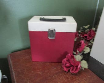 Record Case 45 RPM Carrying Box