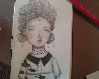 Little girl Talia