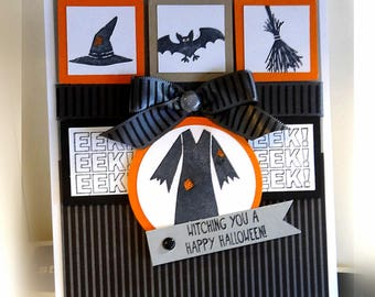 Halloween Card- Stampin' Up Witching You