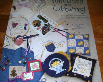 Penstitch and Lettering Line art for embellishing just about anything. Nancy J. Smith & Lynda S. Milligan