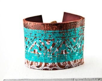 Turquoise Jewelry, Turquoise Bracelet, Turquoise Wrist Cuff, Southwest