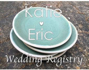 Dinnerware, Place Settings, Dinner Plates, Wedding Registry, Handmade Plates, Pottery Plates, Pottery Bowls, Wheel Thrown Pottery