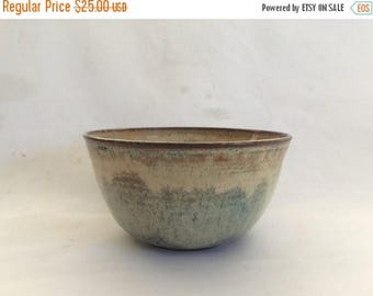 Sale Vintage Signed Artisans Pottery Bowl