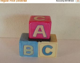 Sale Vintage ABC Treasure or Trinket Box