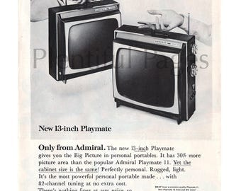 Vintage Electronics/ TV of the 1960s (Page 18)  |1960s Portable Televisions