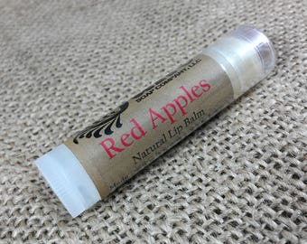 Red Apples Lip Balm - All Natural Lip Balm