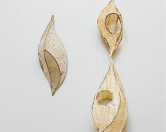 Don't Let Go / Metal & Paper Sculpture Art