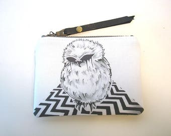 Twin Peaks The Owls Zipper Pouch Coin Purse
