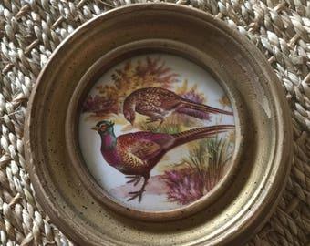 Vintage Pheasant and Ptarmigan Art