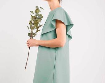 SALE - LeMuse mint SUMMER WING dress