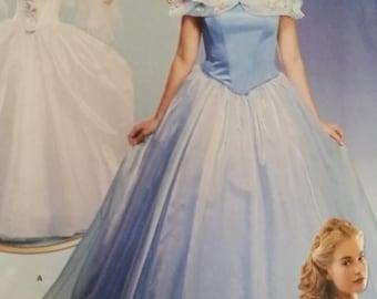 Fantasy FairyGodmother or Snow Queen n CInderella Costumes--UNCUT  Patterns -- Ladies Multiple sz 6-14