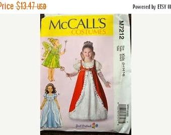 Princess Sewing Pattern Costume Girls Sizes  3-8-Uncut Pattern--Gorgeous -- 40-70% off Patterns n Books SALE