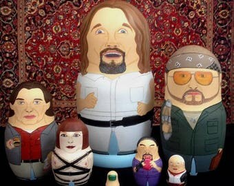 The Big Lebowski Super Deluxe Matryoshka Dolls
