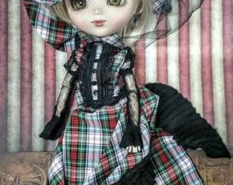 pullip doll bjd Victorian Scottish lace