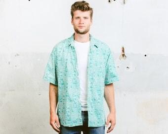 Mens summer shirt | Etsy