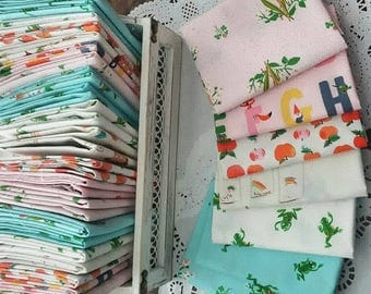 Kinder Selects Fat Quarter Bundle - Custom Handcut Bundle - by Heather Ross for Windham Fabrics