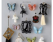 DIY Shrink Plastic Making  cute jewelry & small things accessories Japanese Craft Book BK349