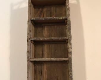 Rustic Cedar Shelf