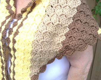 Shawl, wool shawl,  knitted shawl, handmade shawl, crochet shawl, handmade shawl wrap