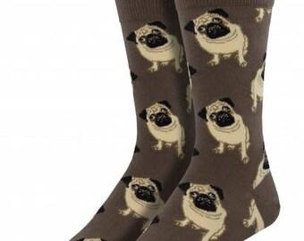 Mens Pug Socks