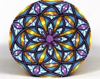 Polymer Clay X Mandala Cane Tutorial