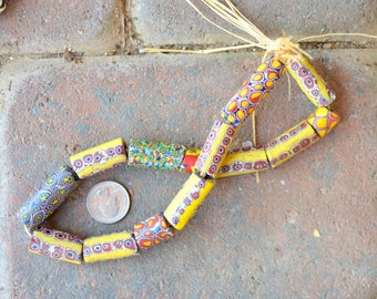 Antique Millefiori Beads