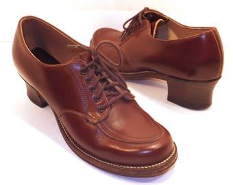 1940s oxford heels | Etsy