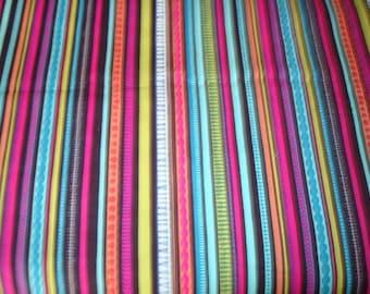 Lorenza Stripes Fabric - by Alexander Henry -1 yard