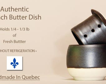 Butter Keeper, French Butter Dish, Butter Dish With Lid, Beurrier Breton, French Butter Keeper, Cloche de beurre