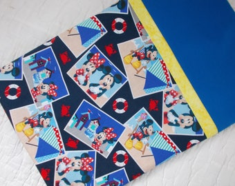Mickey and Minnie Mouse Full Size  Pillow Case