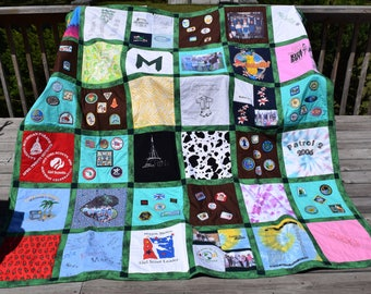 Sports jersey   Etsy : quilts made from sports jerseys - Adamdwight.com