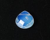 Opalite Teardrop beads | Faceted Opalite Teardrop pendant | Opalite Beads for Sale | Bead Store | Opalite Pendant | Faceted Teardrop Beads