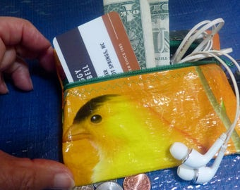 Wallet, Yellow Bird