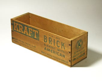 Vintage Kraft Cheese Box - 5 lb. - circa 1930's