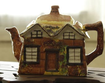 Vintage Cottage Ware Teapot Price and Kensington England Hand Painted, Country Decor, Cottage Serving, Collectible Tea-pot,