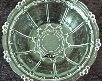 Kig Indonesia Pressed Glass Bowl