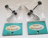 Vintage Miniature Dollhouse Ceiling Fans / 2 Fans Still In Package / NOS / New Old Stock