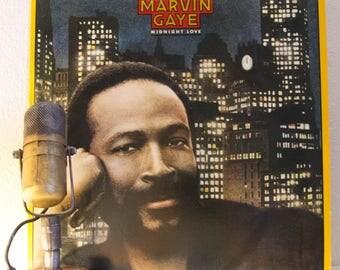 "ON SALE Marvin Gaye Vinyl Record Album LP 1980s Soul R&B Funk Slow Jams Sex Lover ""Midnight Love"" (1982 Cbs w/""Sexual Healing"", ""Midnight La"