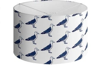 Nautical Seagull Lamp Shade - 40cm