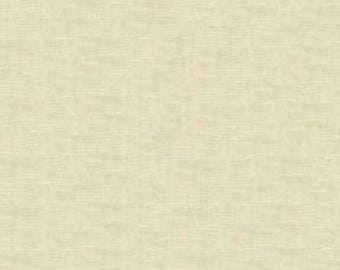 Sand Beige Yarn Dyed Linen, Essex Linen Blend Collection By Robert Kaufman, 1 Yard
